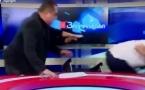 Грузинские политики едва не убили друг друга стаканами в прямом эфире